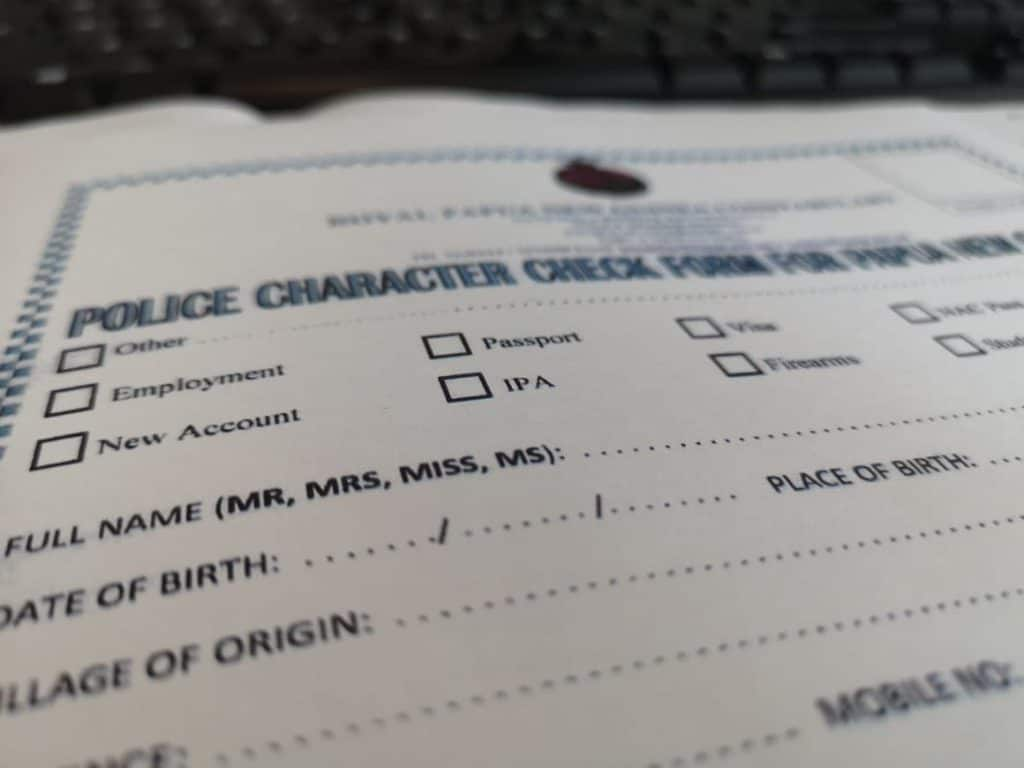 Police Clearance for Canadian Immigration