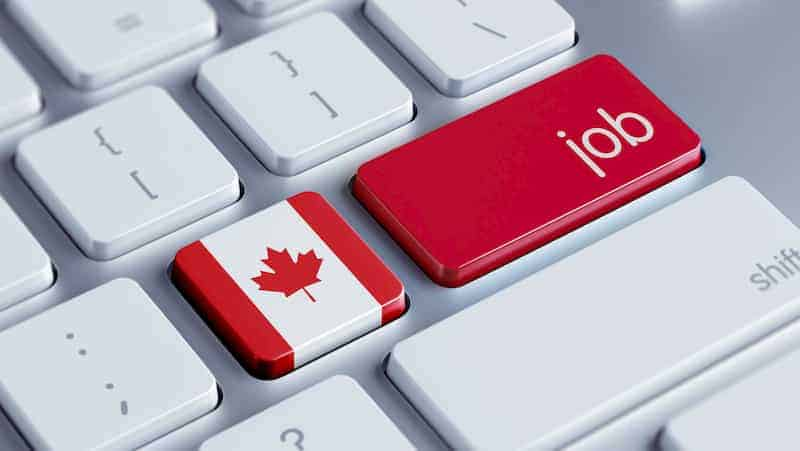 online job application for canada