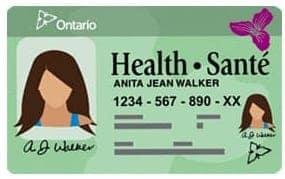 ontario health card