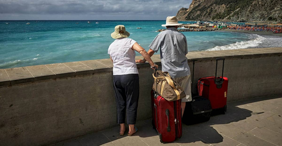 Senior Couple Traveling to Canada with Super Visa