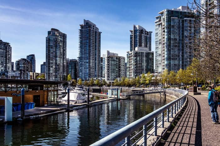 vancouver is a big city surrounded by nature